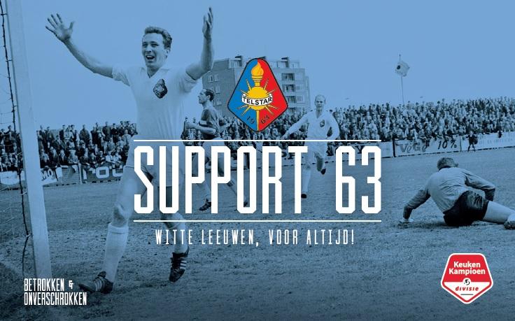 Support'63 kaart